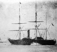 ペーリーが来航した黒船