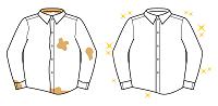 シャツの黄ばみ