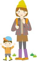 親子遠足の服装