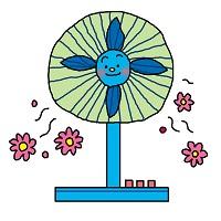 扇風機の絵