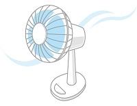 涼しそうな扇風機