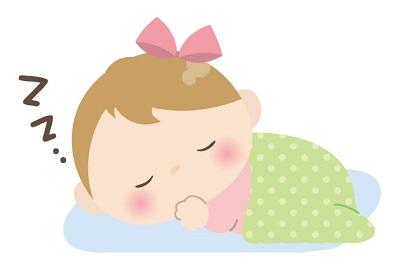 お昼寝赤ちゃん