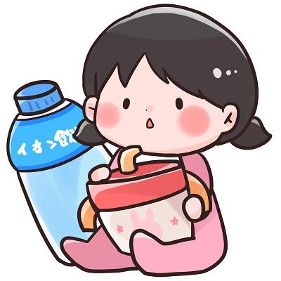 赤ちゃんの飲み物