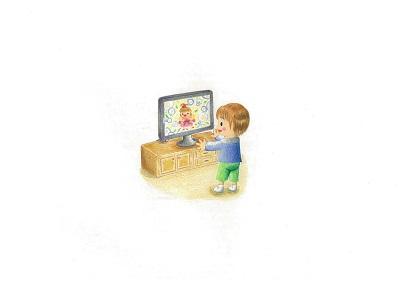 赤ちゃんとテレビ