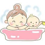 赤ちゃんの お風呂の温度!季節によって変わる!