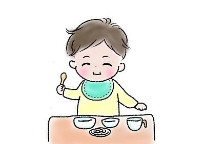 赤ちゃんの食事