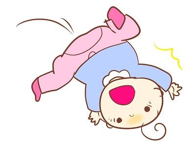 赤ちゃん転落